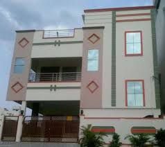 Elevation Designs For G 1 In Hyderabad Two Floors Building House Front Design House