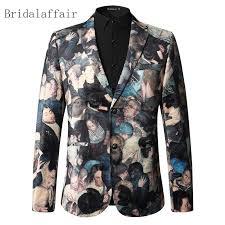 Bridalaffair 2018 Latest Designs Casual Blazer Men Figure