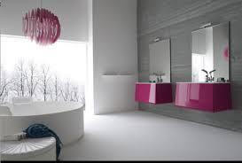 Cute minimalist bathroom design ideas Modern Bathroom Appliances Cute White Minimalist Bathroom With Pink Accents Ideas Cento Ventesimo Decor Modern Bathroom Appliances Cute White Minimalist Bathroom With Pink