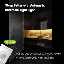 Toe Kick Lighting Motion Sensor Us 14 08 Motion Sensor Led Light Motion Activated Bed Light Led Strip Sensor Night Light Illumination With Automatic Shut Off Timer In Led Night