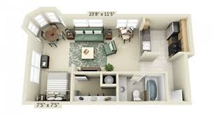 tiny apartment floor plans