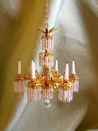 houses with chandeliers dollhouse doll house miniature crystal chandelier lamp 6
