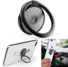 Phone Ring Holder Finger Kickstand FITFORT <b>360</b>° Rotation <b>Metal</b> ...
