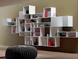 Living Room Shelves Neutral Living Room Wall Colour Feat Modern Modular Shelving Design Ideas And Knitted Puffjpg