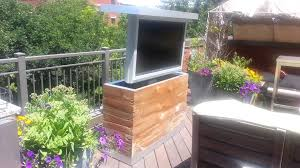 outdoor tv lift cabinet home interior designer today
