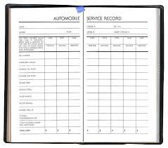 Car Maintenance Record Always Organizing Keep Your Vehicle Service Records Organized