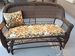 patio furniture chair cushions wicker chair cushion fl pattern regarding outdoor wicker seat cushions very elegant