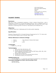 Confortable Latest format Resume 2016 About 4 Latest Cv format Sample
