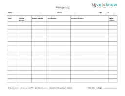 business mileage tracker mileage log excel template business mileage tracking log spreadsheet