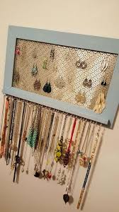 Best 20 Diy Jewelry Holder Ideas On Pinterest Diy Jewelry for 63 diy wall jewelry  display