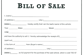 Bill Of Sale For Car Interesting Free Template For Bill Of Sale Colbroco
