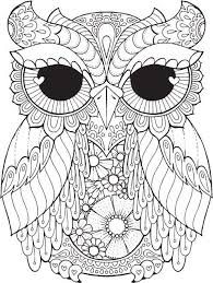 owl pictures to colour in. Brilliant Owl Kurby Owl  Colour With Me HELLO ANGEL Coloring Design Detailed  Meditation Coloring For Grown Ups Owl Cute Colouring Kids With Pictures To In W