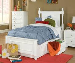 white twin storage bed. Brilliant Storage White Twin Size Bed With Under Storage Drawers Intended