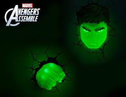 Avengers 3D Wall Lights