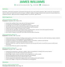 Build A Resume Like This. Receptionist Resume Tips