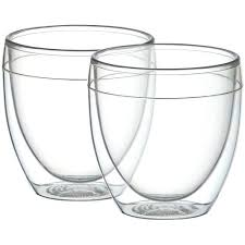 bodum double wall outdoor double wall tumblers set 6 bodum columbia double wall stainless steel french bodum double wall