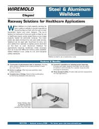 Wiremold Raceway Solutions For Healthcare Applications