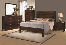 King Bed Bedroom Set Coaster 203491kw S4 Cameron Cappuccino 4 Pcs Cal King Bedroom Set