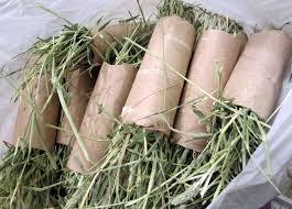 paper roll hay stuffer