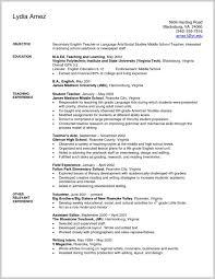 Educator Resume Template 91045 Art Teacher Resume Examples Ideas