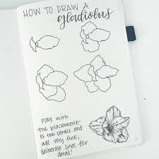 flower doodles are beautiful and add creative flaire to literally any bullet journal thankfully my