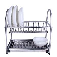 Kitchen Dish Rack Aliexpresscom Buy 304 Stainless Steel Dish Drainer Kitchen
