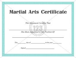 Martial Arts Certificate Templates Best Martial Arts Certificate Templates For Free Download Now