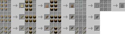 minecraft fence gate. Fence Post Minecraft Gate Recipe How To Make Crafting