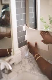 Transform Your Bathroom with Peel and Stick Backsplash Tiles