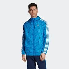 <b>adidas Ветровка</b> Monogram - синий | <b>adidas</b> Россия