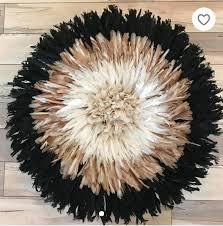 juju hat feather headdress multicolored
