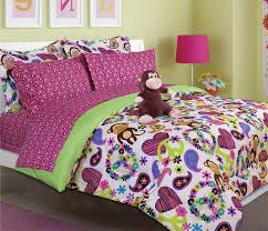 Graceful Monster High Bedroom Sets or Girl S Peace Love and Monkey ...