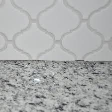 Caulking Kitchen Backsplash Simple How To Tile A Kitchen Backsplash DIY Tutorial Sponsored By Wayfair