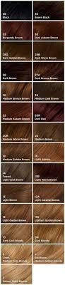 Natural Instincts Hair Color Chart Hair Coloring