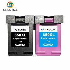 Obestda <b>4 Color Dye</b> Refill <b>Ink</b> Replacement <b>For</b> HP Kit 100ML ...