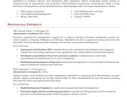 Office Admin Resume Resume Tenplates