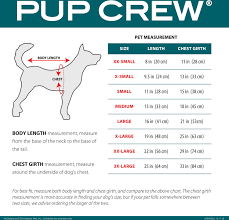 Pup Crew Size Chart Pup Crew Unicorn Print Dog Pajamas Xx Small
