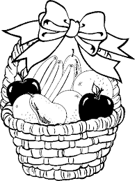 Small Picture Coloring Page Of Berry Basket Coloring Downlload Coloring Pages