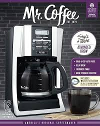 mr coffee 12 cup thermal carafe coffee am cup programmable coffee maker with thermal carafe option
