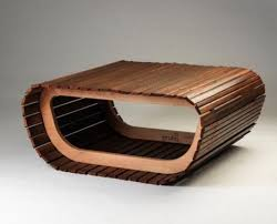 Recycled Wooden Furniture Furniture Made From Recycled Wooden Blind Slats D