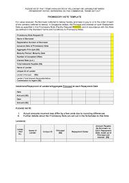 Promissory Note Templates Word 45 Free Promissory Note Templates Forms Word Pdf