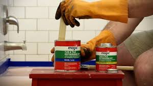 How to Refinish Your Tub with the Magic Paint On Tub & Tile Kit ...