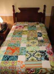 50 best Quilts - D9 Patch images on Pinterest | Appliques ... & Disappearing Nine Patch - via great idea to do this with big blocks for the  large scale prints. that is a HUGE nine patch! Adamdwight.com