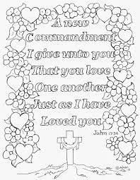 Small Picture Coloring Pages for Kids by Mr Adron Love One Another Coloring