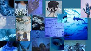 Aesthetic Blue For Laptop Wallpapers ...
