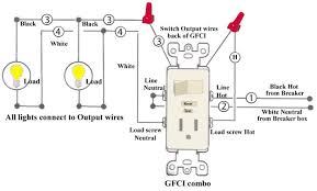 leviton gfci outlet wiring diagram wiring diagram Wiring Diagram Gfci Outlet electrical how should i wire a gfci outlet and switch to wiring diagram for gfci outlet