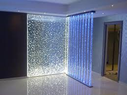 2013 Home Decor Trends Lighted Corner Of Enchanting Glass Room Partitions Design Ideas