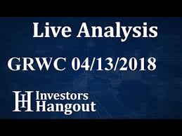 Grwc Stock Chart Grwc Stock Grow Condos Inc Live Analysis 04 13 2018 Youtube