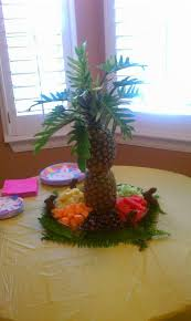 Fresh Fruit Tree Display