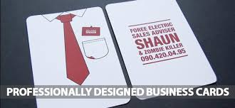 Professionally Designed Business Cards 25 Examples Design